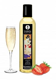Champagne & Strawberries Massage Oil - 240 ml