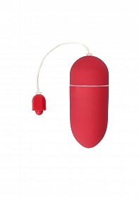 10 Speed Vibrating Egg - Red