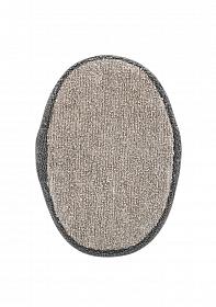 Oval Bath Sponge - Taupe