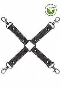 Denim - Hogtie - Roughend Denim Style - Black