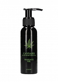 Cannabis With Hemp Seed Oil - Massage Oil - 100 ml