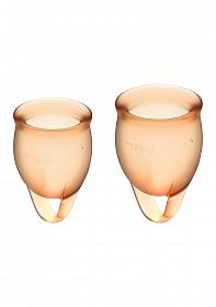 Feel Confident Menstrual Cup - Orange