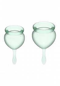 Feel Good Menstrual Cup - Light green