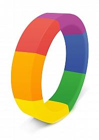 The Brawn Pride Cockring - Rainbow