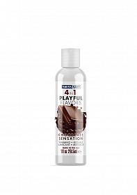 Swiss Navy 4 in 1 Chocolate Sensation 1 oz/30 ml