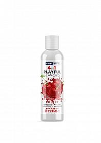 Swiss Navy 4 in 1 Poppin Wild Cherry 1 oz/30 ml
