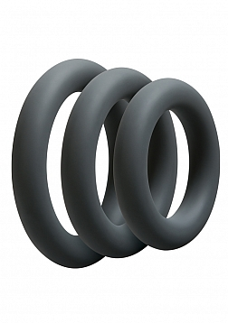 3 C-Ring Set - Thick - Slate