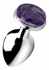 Gemstones Amethyst Gem Large Anal Plug
