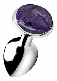 Gemstones Amethyst Gem Small Anal Plug