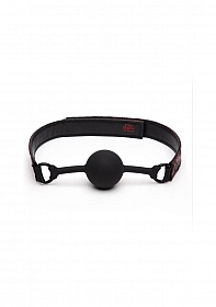Sweet Anticipation Ball Gag - Red