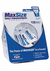 MaxSize Cream - Fishbowl - 50ct