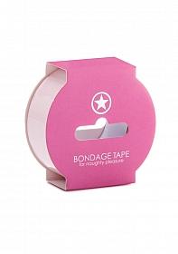 Non Sticky Bondage Tape - 17,5 meter - Light Pink