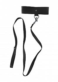 Black Leash & Collar