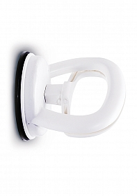 Single Locking Suction Handle - White