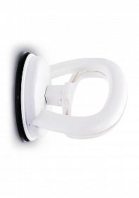 Single Locking Suction Handle - White