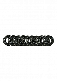 My Ten Erection Rings Tight Firm Rings-Black
