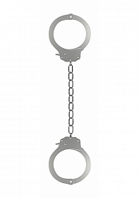 Pleasure Legcuffs - Metal