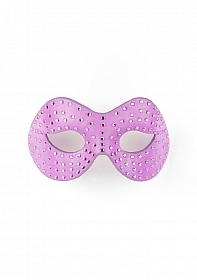 Diamond Moulded Mask - Purple