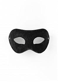 Eye Mask - Suede - Black