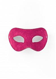 Eye Mask - Suede - Pink