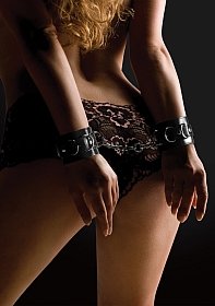Leather Cuffs - Black