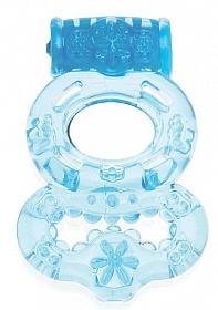 Super Enjoyable Vibrating Ring - Blue