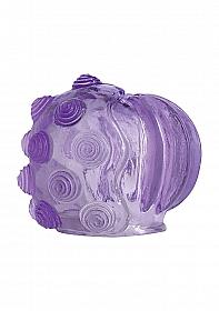 Magic Massager Pleasure Attachment Swirl/Lip