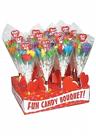 Eat Me! Tulip Candy Bouquet - Display 12 pieces