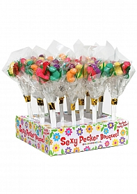 Candy Penis Bouquet - Display 12 pieces