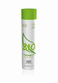 HOT BIO massage oil - Aloë vera - 100 ml
