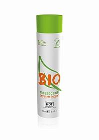 HOT BIO massage oil - cayenne pepper - 100 ml