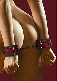 Luxury Hand Cuffs - Burgundy