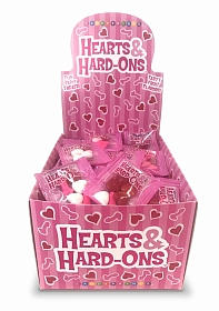 HEARTS AND HARD ONS, DISPLAY OF 100