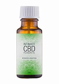 Natural CBD Intimate Pleasure Oil - 20 ml