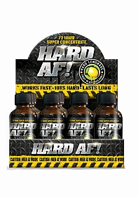 Hard AF Shots - Display 12 bottles