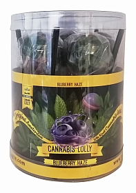 Cannabis Lollies Blueberry HaZe - Giftpack - 8 pieces