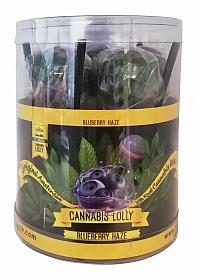 Cannabis Lollies Blueberry HaZe - Giftpack - 10 pieces