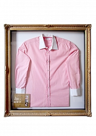 Hugh Hefner - Pink Dress Shirt