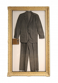 Hugh Hefner - Wool Flannel Suit