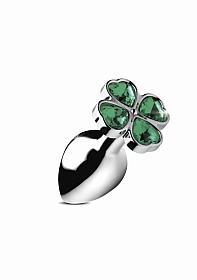 Lucky Clover Gem - Small - Silver