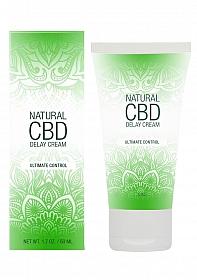 Natural CBD -  Delay Cream - 50 ml
