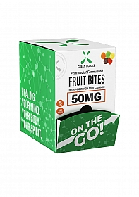 Fruit Bites 50 MG - Display of 30 pieces