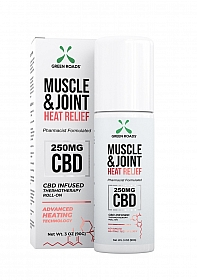 Muscle and Joint Heat Relief Roll On - 250 MG - 90g