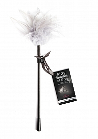 Tease Feather Tickler - Black/White