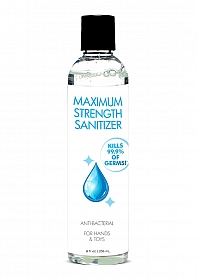Maximum Strength Santizer for Hands and Toys - 236 ml