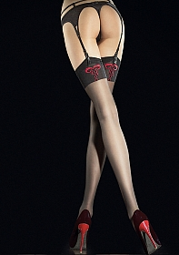 INCONTRA Stockings 20 den - Black