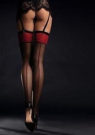 SCARLETT Stockings 20 den - Black