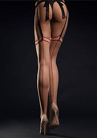 MADAME Stockings Stockings 20 den - Red