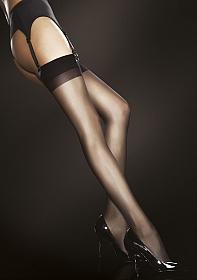JUSTINE Stockings 20 den - Black