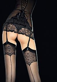VESPER Stockings 20 den - Black